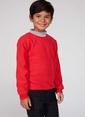 DeFacto Uzun Kollu Sweatshirt Kırmızı